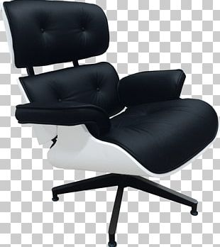 Eames Lounge Chair Lounge Chair And Ottoman Office & Desk Chairs Foot Rests Fauteuil PNG