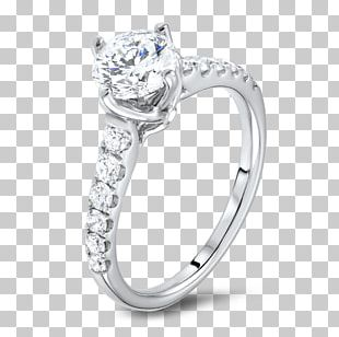 Engagement Ring Coster Diamonds Carat PNG