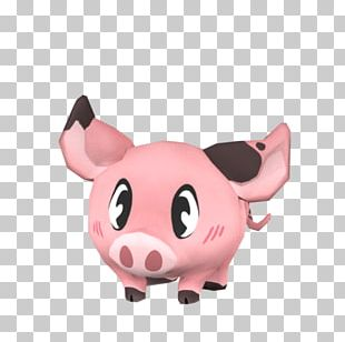Pig Snout Pink M Stuffed Animals & Cuddly Toys PNG