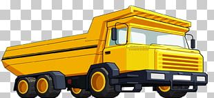 Dump Truck Graphics Haul Truck Illustration PNG