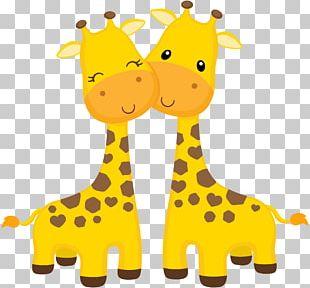 Giraffe Cupcake Okapi Wedding Invitation Baby Shower PNG