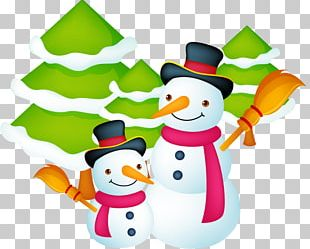 Santa Claus Christmas Gift Card Template PNG