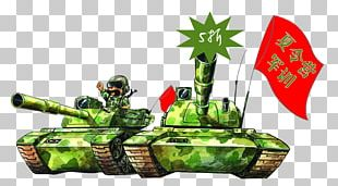 Military Education And Training Watercolor Painting Cartoon Illustration PNG