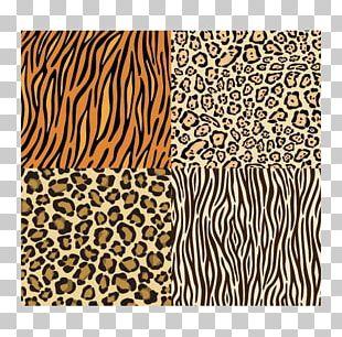 Paper Leopard Animal Print Scrapbooking Printing PNG