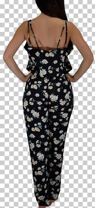 Polka Dot ShopStyle Pareo Shoulder Dress PNG