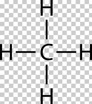 Lewis Structure Molecular Geometry Methane Molecule Chemical Formula PNG