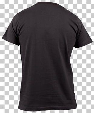 Tshirt Black Back PNG