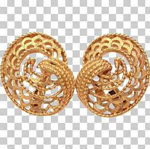 Earring Costume Jewelry Body Jewellery Gold PNG