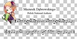 Sheet Music National Anthem Of Poland Violin PNG