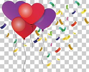 Toy Balloon Birthday Love PNG
