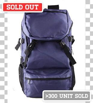 Bag Backpack Travel Pentagram Blue PNG