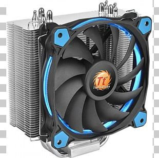 Computer System Cooling Parts Heat Sink Thermaltake Central Processing Unit Light-emitting Diode PNG
