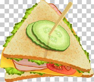 Tea Sandwich Club Sandwich Submarine Sandwich Fast Food Ham And Cheese Sandwich PNG