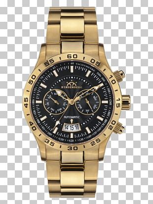 Watch Omega Seamaster Chronograph Gold Guess PNG