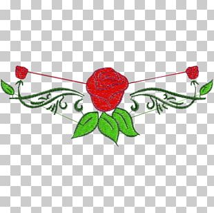 Rose Family Floral Design Pattern PNG