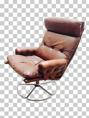 Recliner Eames Lounge Chair Swivel Chair PNG