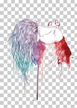Watercolor Painting Drawing Art PNG