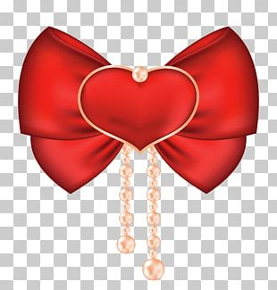 Valentine's Day Heart Bow And Arrow PNG