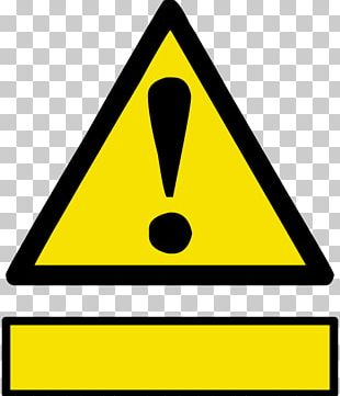 Occupational Safety And Health Hazard Symbol Warning Sign PNG