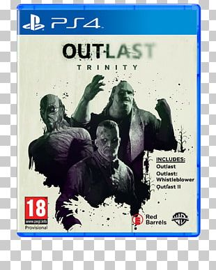Outlast 2 Outlast: Whistleblower PlayStation 4 Video Game PNG