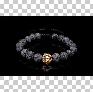 Bracelet Gemstone Necklace Leather Bead PNG