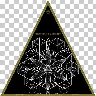 Sacred Geometry Triangle Symmetry Platonic Solid PNG