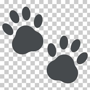 Dog Emoji Paw Emoticon PNG