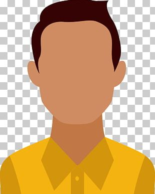 Flat Design Avatar User PNG