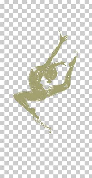 Female Gymnastics Silhouette Yuan PNG