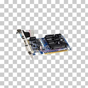 Graphics Cards & Video Adapters NVIDIA GeForce 210 DDR3 SDRAM NVIDIA GeForce GT 710 PNG