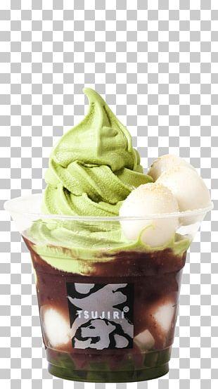 Sundae Ice Cream Matcha Parfait Frozen Yogurt PNG