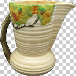 Coffee Cup Ceramic Saucer Pottery Jug PNG