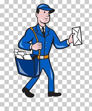 Mail Carrier Cartoon PNG