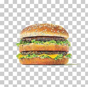 Hamburger Fast Food KFC Beef PNG