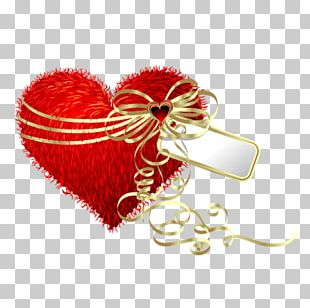 Heart Valentines Day Gift Pillow PNG