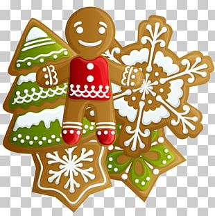 Icing Cuccidati Christmas Cookie PNG