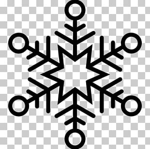 Hexagon Snowflake Shape Geometry PNG