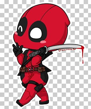 Deadpool Spider-Man YouTube Drawing Chibi PNG