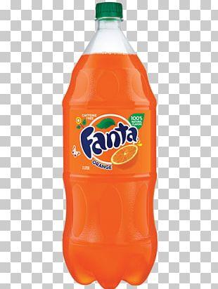 Fizzy Drinks Coca-Cola Fanta Orange Soft Drink PNG