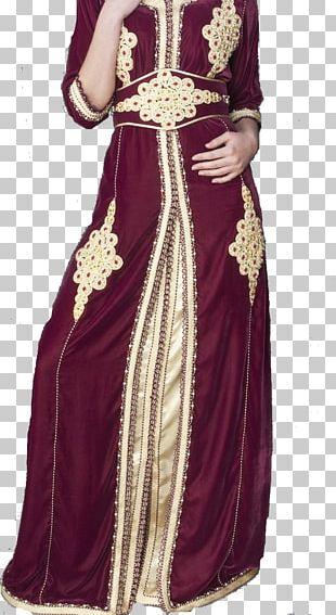 Kaftan Gown Fashion Dress Moroccans PNG