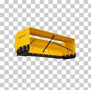 Tractor Snow Pusher Snowplow Car PNG