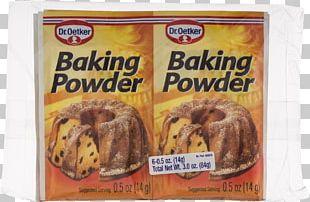 Baking Powder Sodium Bicarbonate Dr. Oetker PNG