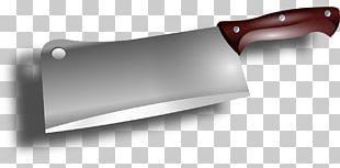 Butcher Knife Cleaver PNG