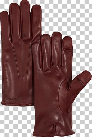 Leather Women Gloves PNG