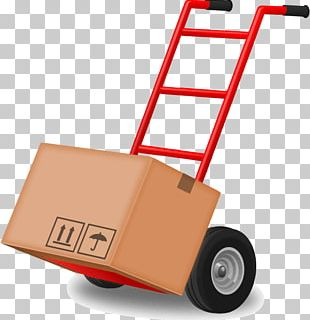 Hand Truck Mover Car Transport PNG