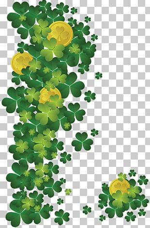 Ireland Saint Patrick's Day Shamrock March 17 Irish People PNG