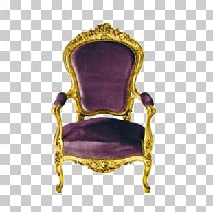 Wing Chair Fauteuil Furniture Louis Quinze PNG