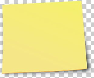 Paper Square Angle Yellow PNG