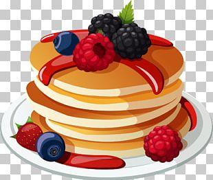 Breakfast Pancake Waffle Brunch Buffet PNG