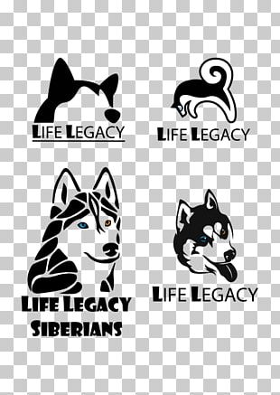 Cat Siberian Husky Logo Dog Breed PNG